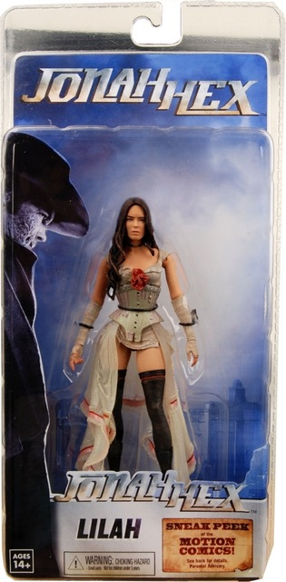 Lilah Action Figure - Megan Fox  Jonah Hex 18 cm