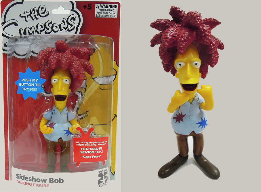 The Simpsons Sideshow Bob Simpsons Figure with Sound 15 cm