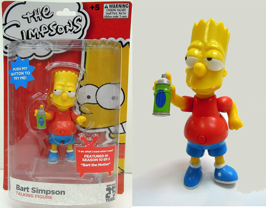 The Simpsons Bart Simpsons Figure with Sound 15 cm