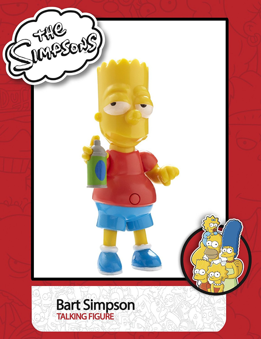 The Simpsons 6 Pack Figure with Sound 15 cm