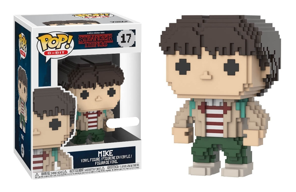 Stranger Things POP! 8-BIT Vinyl Figure Mike Excusive Edition 10 cm