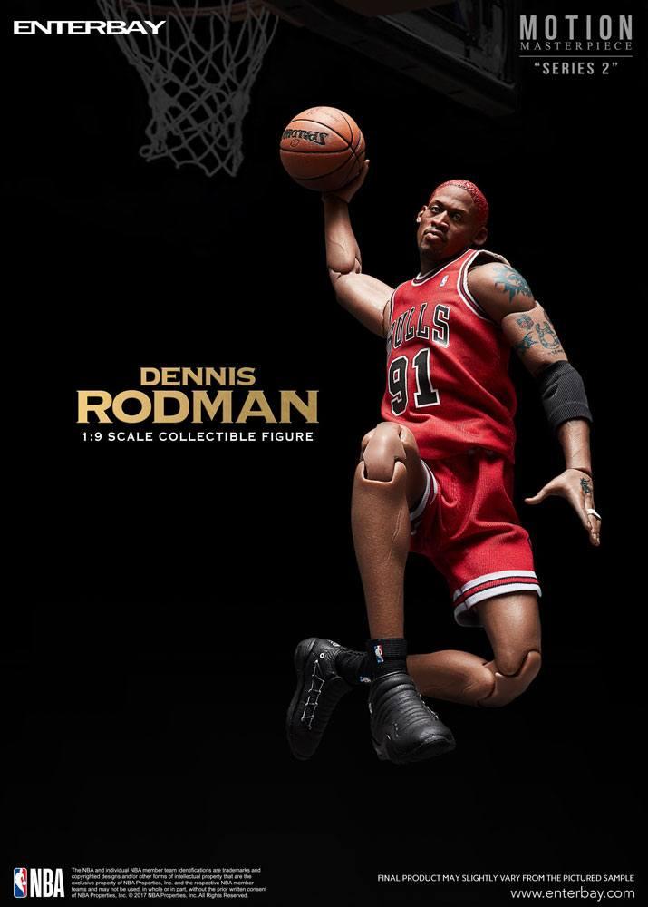NBA Collection Motion Masterpiece Actionfigur 1/9 Dennis Rodman 23 cm
