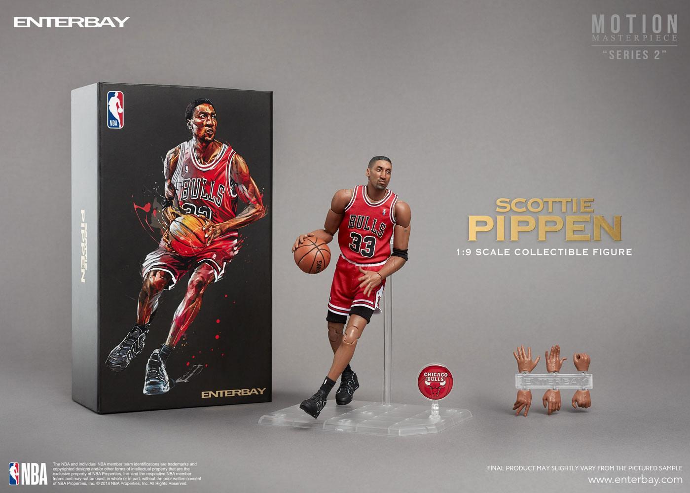 NBA Collection Motion Masterpiece Actionfigur 1/9 Scottie Pippen 23 cm