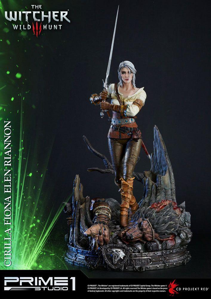Witcher 3 Wild Hunt Statue Ciri of Cintra 69 cm