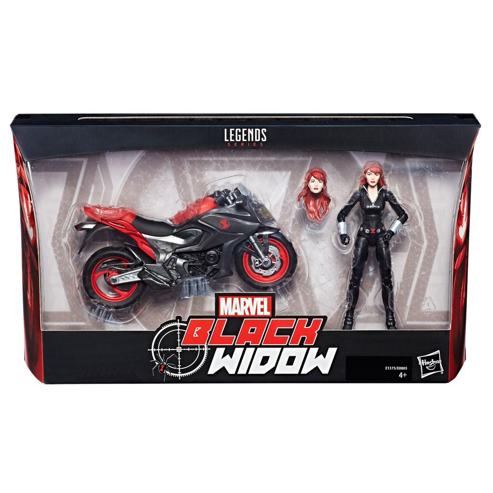 Marvel Legends Series Ultimate Black Widow Action Figures 15 cm 2018 Wave 1