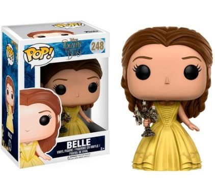 Pop! Disney: Beauty and The Beast 2017 - Belle with Candlestick Exclusive