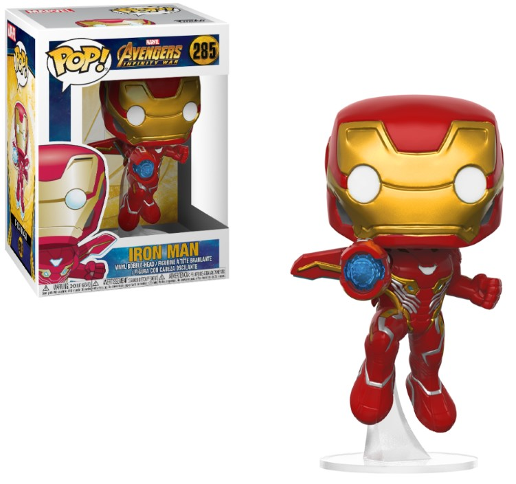 Pop! Marvel: Avengers Infinity War - Iron Man Vinyl Figure 10 cm