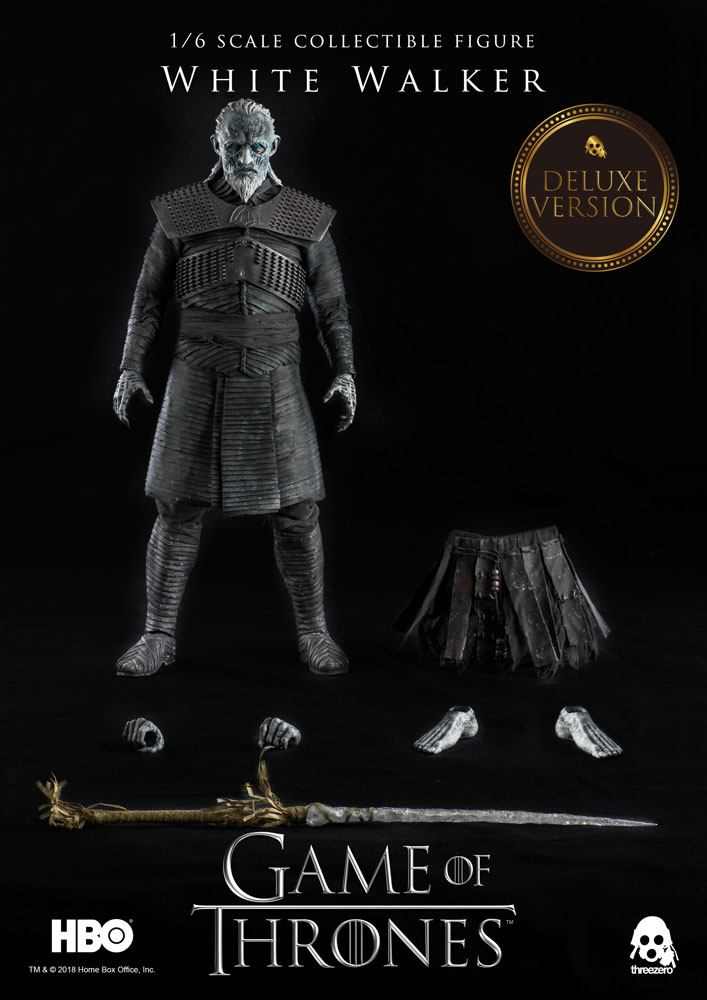 Game of Thrones Action Figure 1/6 White Walker Deluxe Version 33 cm