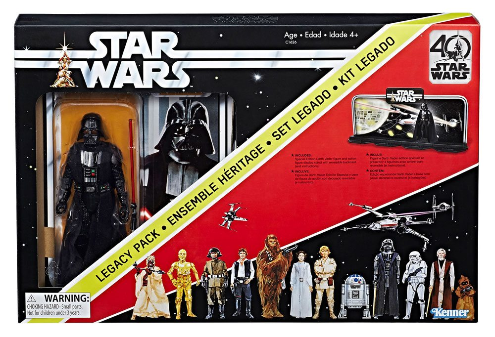 Star Wars Black Series Action Figure Darth Vader 40th Anniversary Legacy