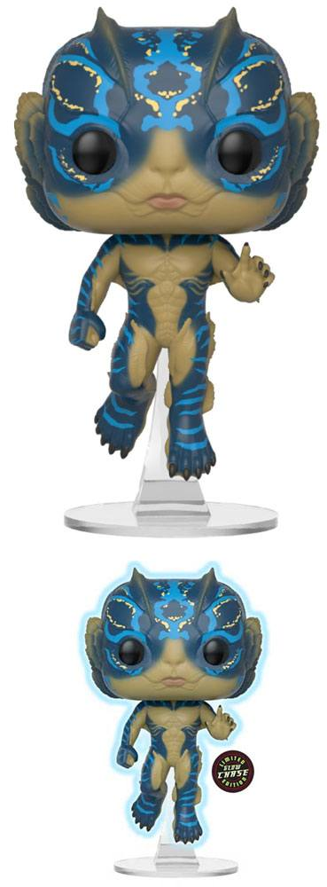The Shape of Water POP! Movies Vinyl Figures Amphibian Man + Chase 10 cm