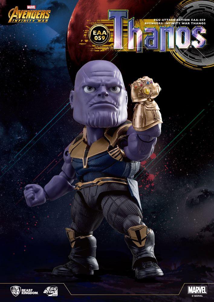 Avengers Infinity War Egg Attack Action Figure Thanos 23 cm