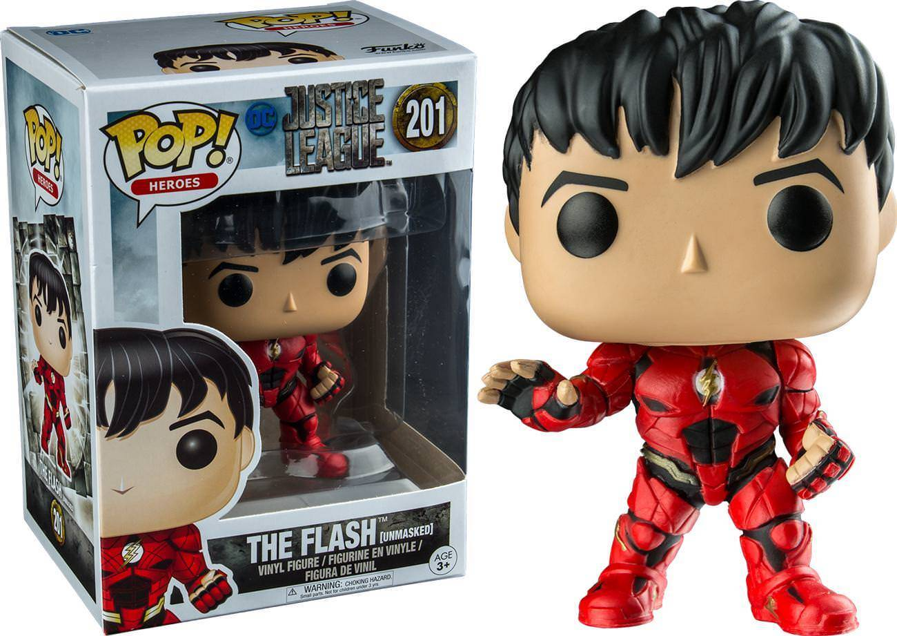 Pop! DC: Justice League - Unmasked Flash Limited Edition 10 cm