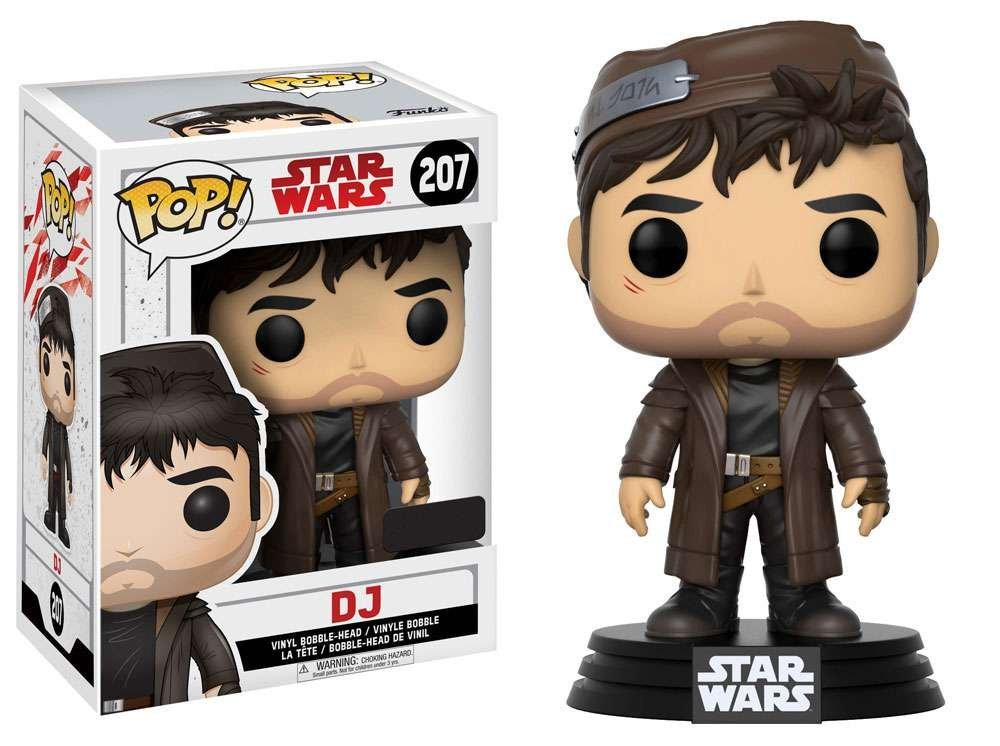 Pop! Star Wars Episode 8: The Last Jedi - DJ Exclusive Edition Vinyl Figure