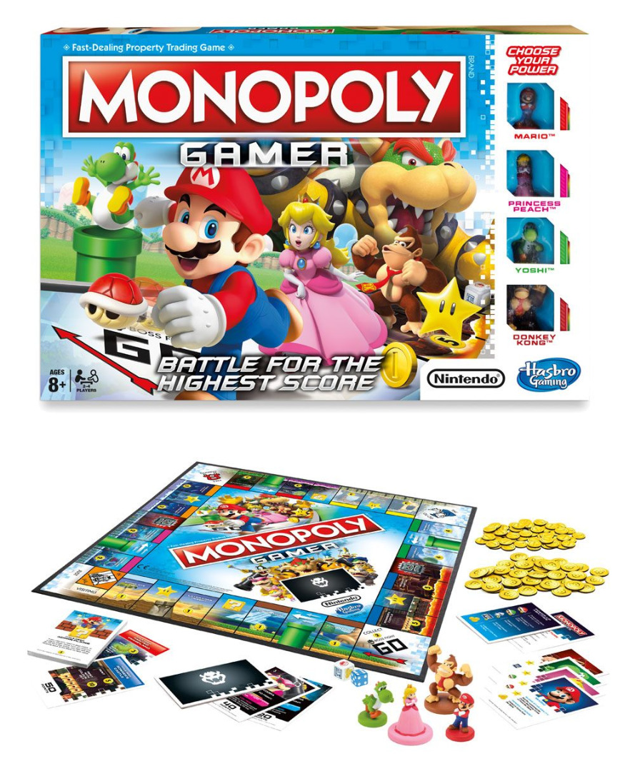 Nintendo Board Game Monopoly Gamer Mario Edition *English Version*