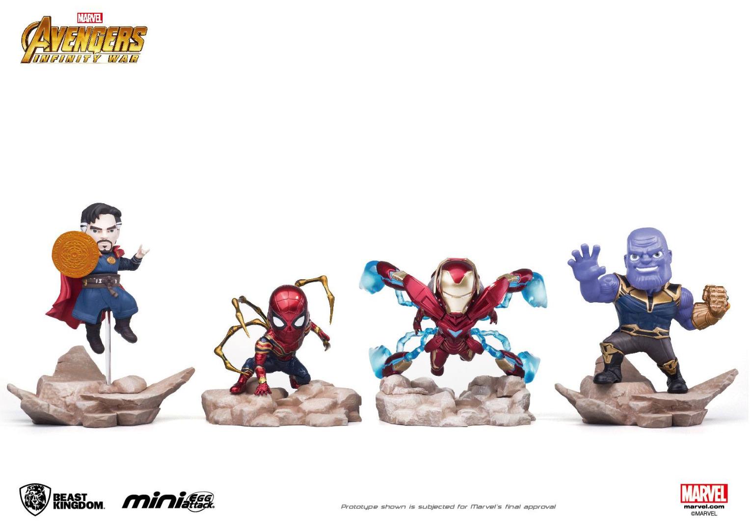 Avengers Infinity War Mini Egg Attack Figure 9 cm Assortment