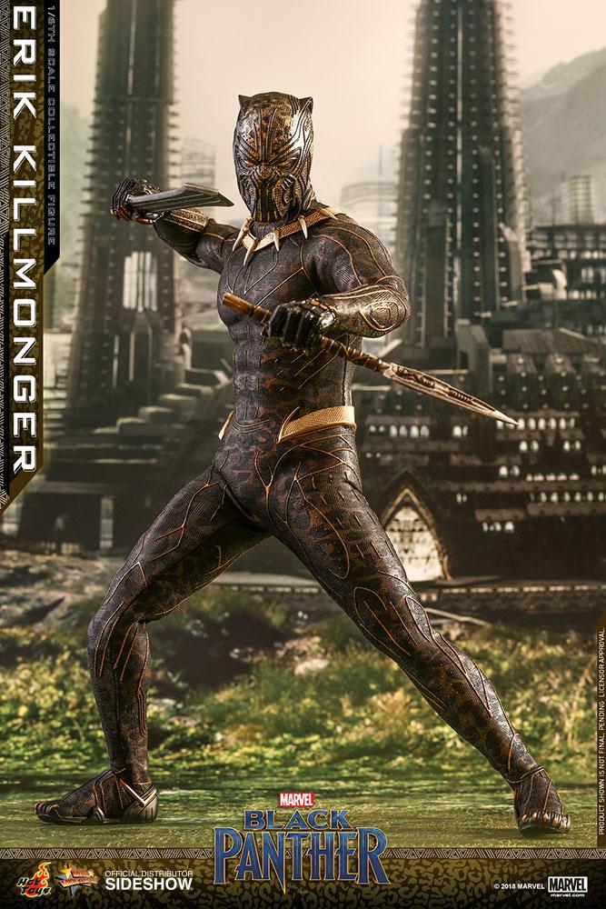 Marvel: Black Panther Movie - Erik Killmonger 1:6 Scale Figure 31 cm