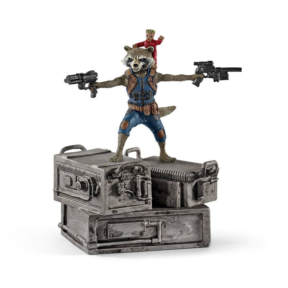 Guardians of the Galaxy 2 Figure Rocket & Groot 10 cm