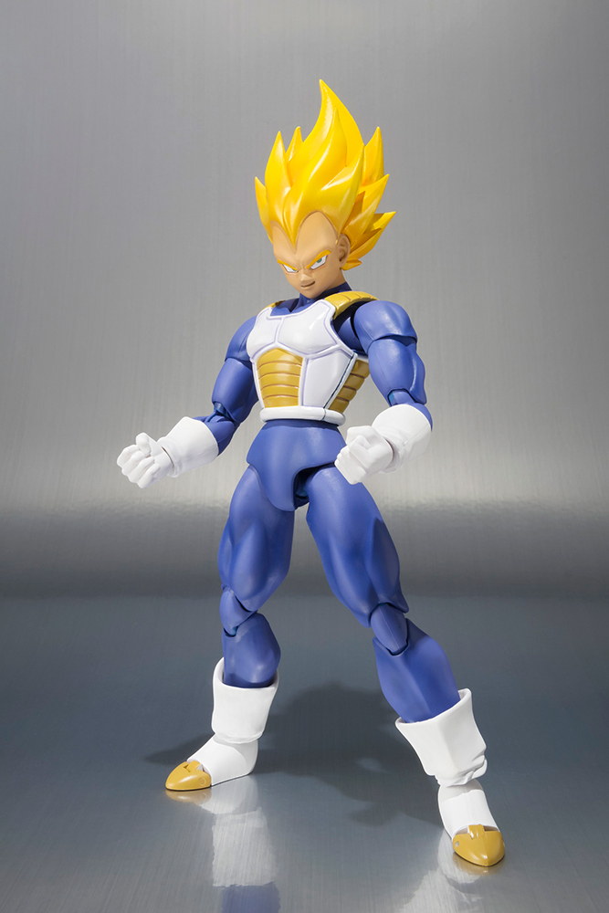 Action Figure Dragon Ball Super Saiyan Vegeta Prem Figuarts