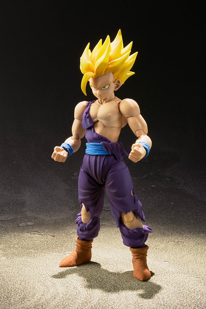 Action Figure Dragon Ball Super Saiyan Son Gohan Figuarts