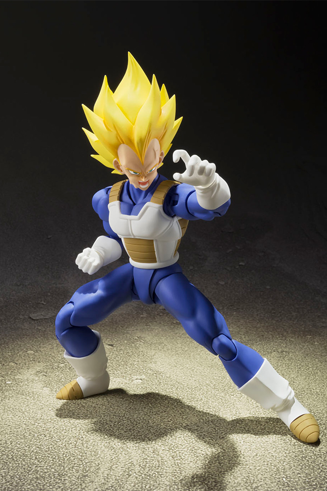 Action Figure Dragon Ball Z Super Saiyan Vegeta Figuarts