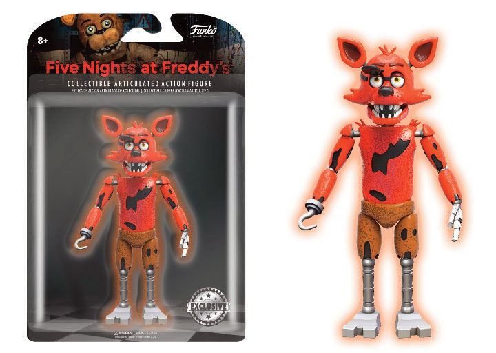 Five Nights at Freddy's Action Figure Foxy GITD 13 cm