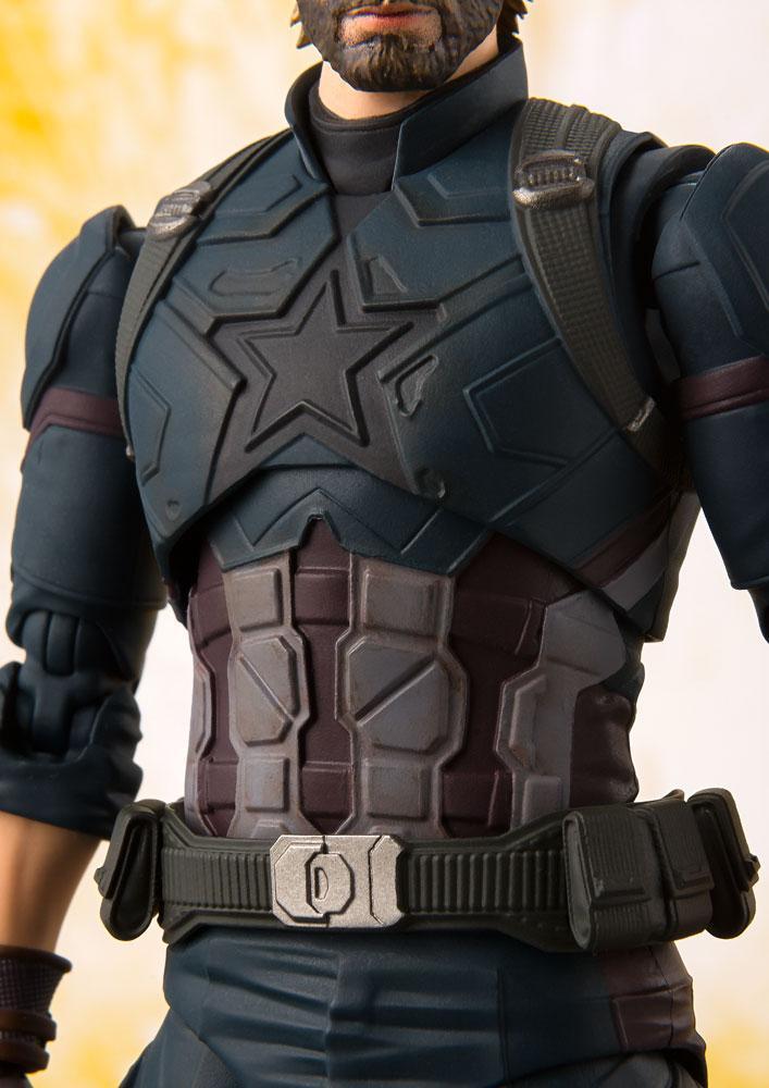 Avengers Infinity War S.H. Figuarts AF Captain America & Tamashii Effect Ex