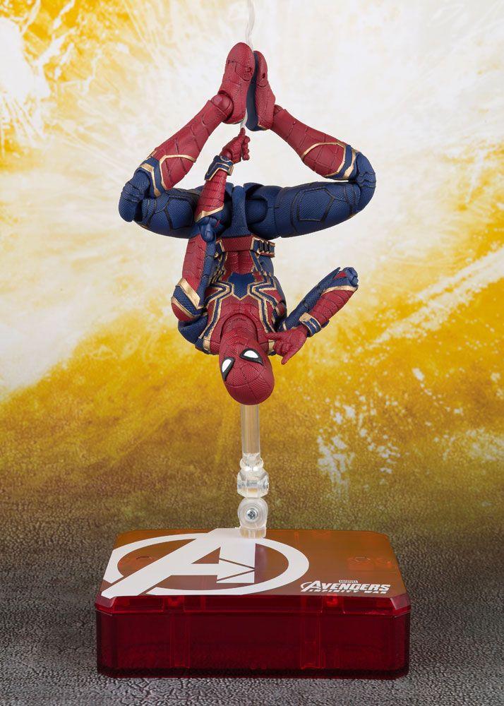 Avengers Infinity War S.H. Figuarts AF Iron Spider & Tamashii Stage