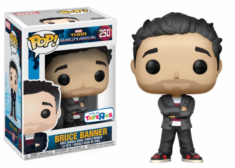 Pop! Marvel: Thor Ragnarok - Bruce Banner Exclusive Edition 10 cm