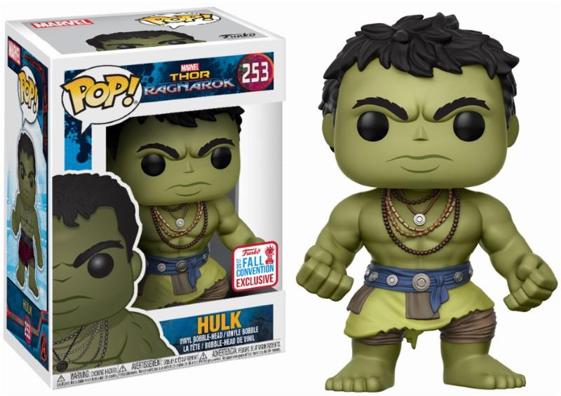 Pop! Marvel: Thor Ragnarok - The Casual Hulk NYCC 2017 10 cm