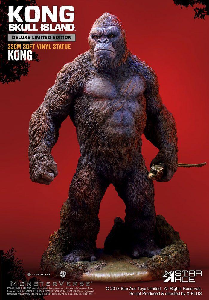 Kong Skull Island Soft Vinyl Statue Kong Deluxe Version 32 cm