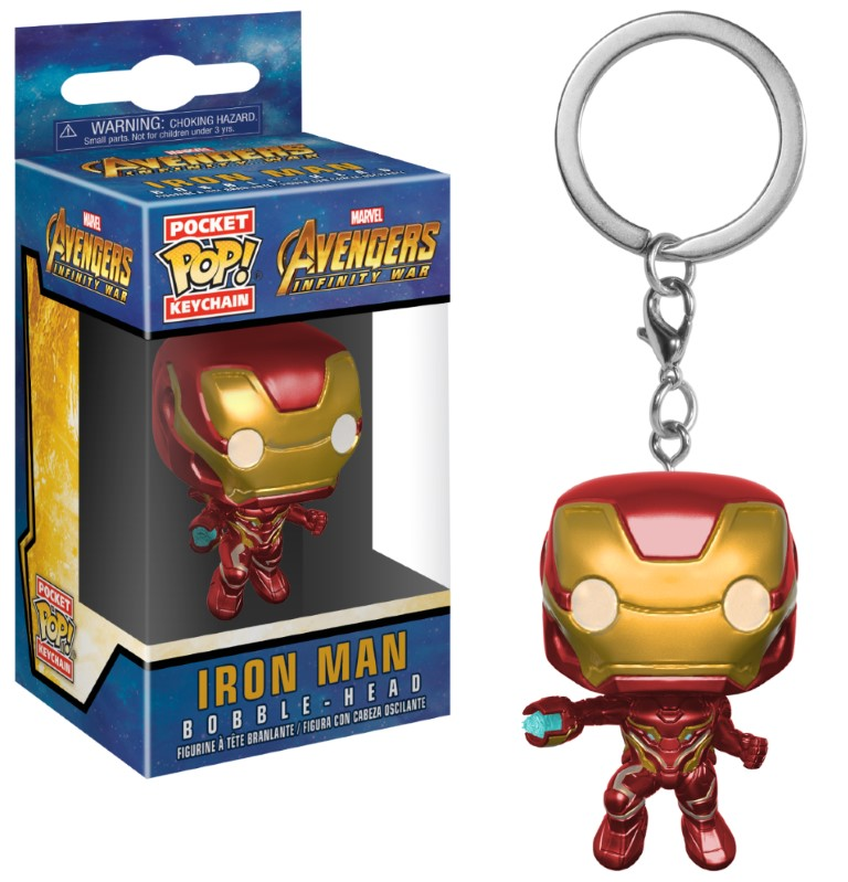 Pocket Pop Keychain Marvel: Avengers Infinity War - Iron Man