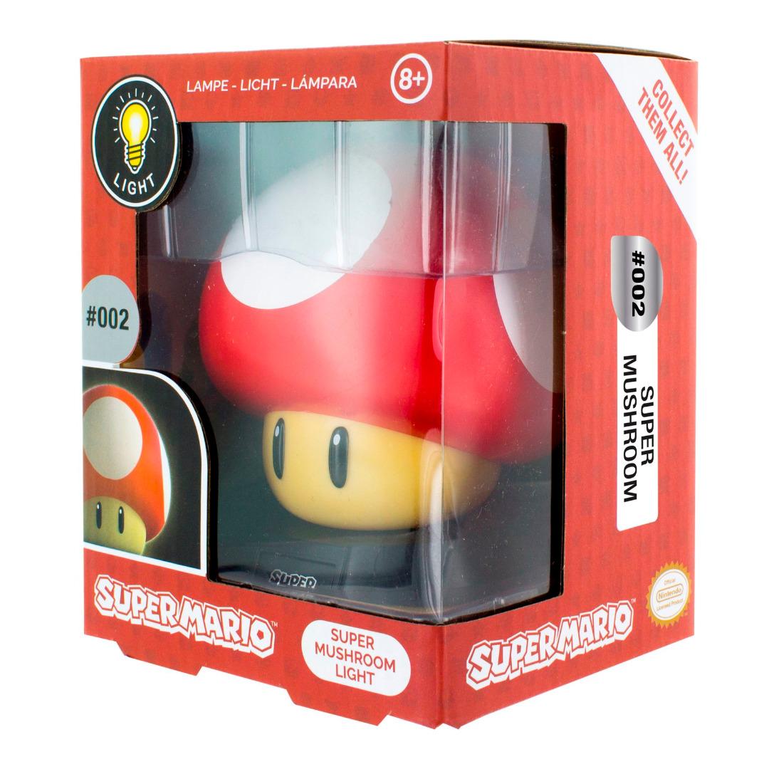 Super Mario: Super Mushroom 3D Light