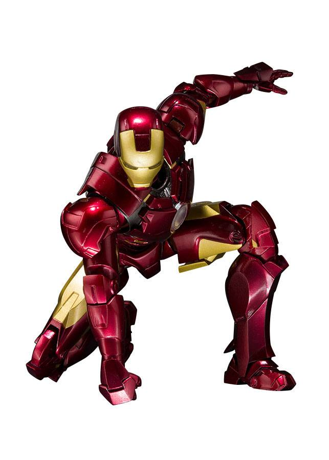 Iron Man 2 S.H. Figuarts AF Iron Man Mark IV & Hall of Armor Set Web EX.