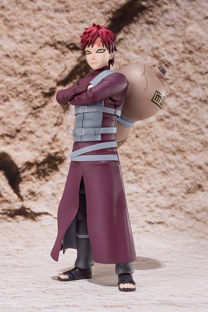 Action Figure Naruto Gaara S.H. Figuarts 16 cm