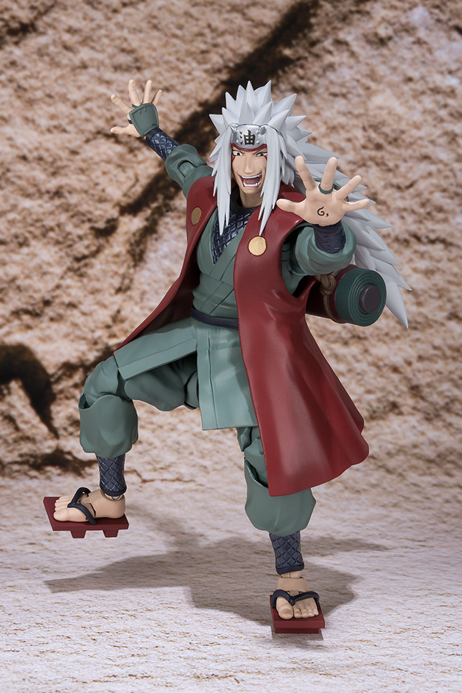Action Figure Naruto Jiraiya S.H. Figuarts 17 cm