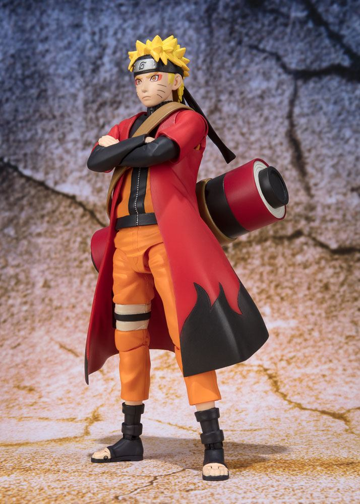 Naruto S.H. Figuarts AF Naruto Uzumaki Sage Mode Advanced Tamashii Web EXC