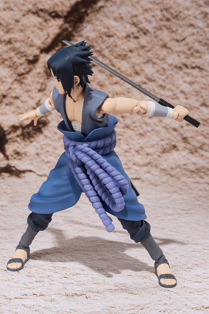 Naruto Sasuke Uchiha Balttle Action Figure Web EX 15 cm