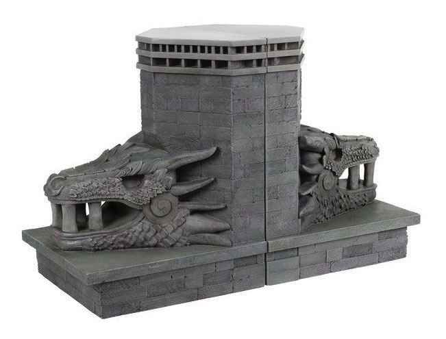 Game of Thrones Bookends Dragonstone Gate Dragon