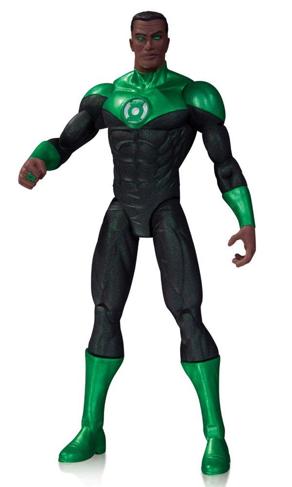 DC Comics The New 52 Action Figure Green Lantern John Stewart 17 cm