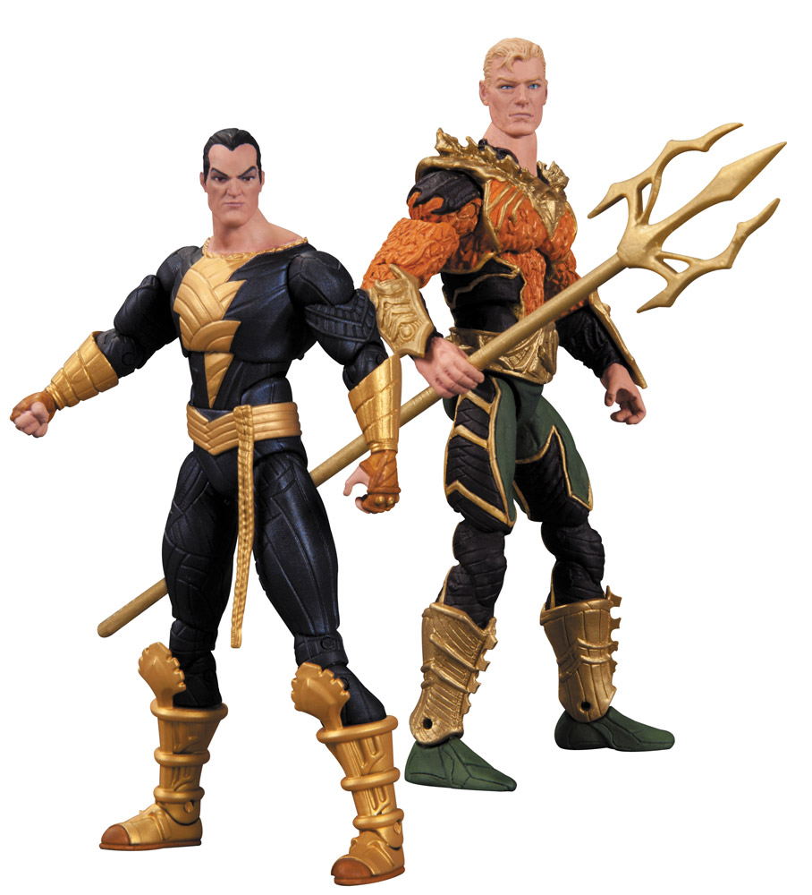 Injustice Action Figure 2-Pack Aquaman vs. Black Adam