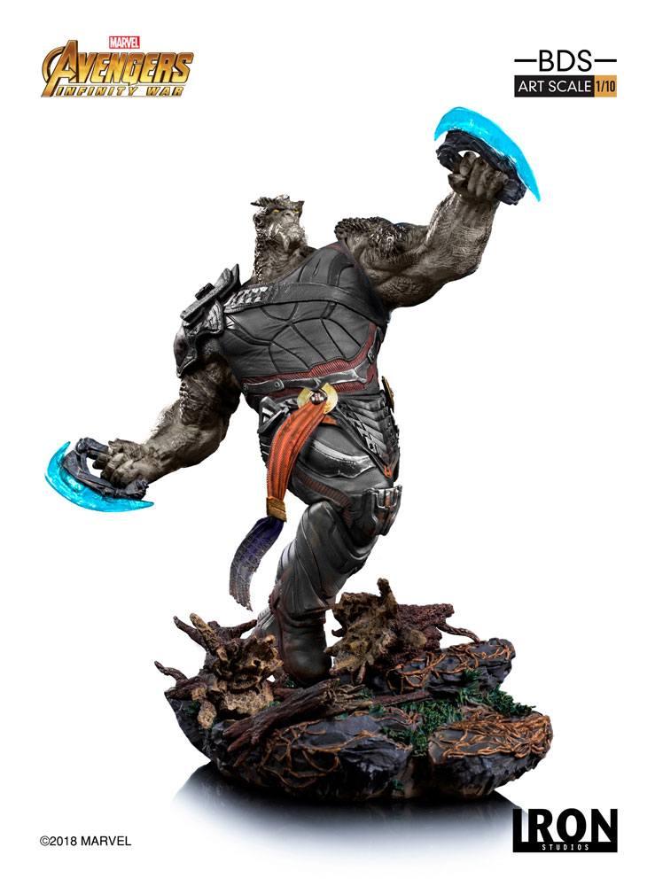 Avengers Infinity War BDS Art Scale Statue 1/10 Cull Obsidian 39 cm