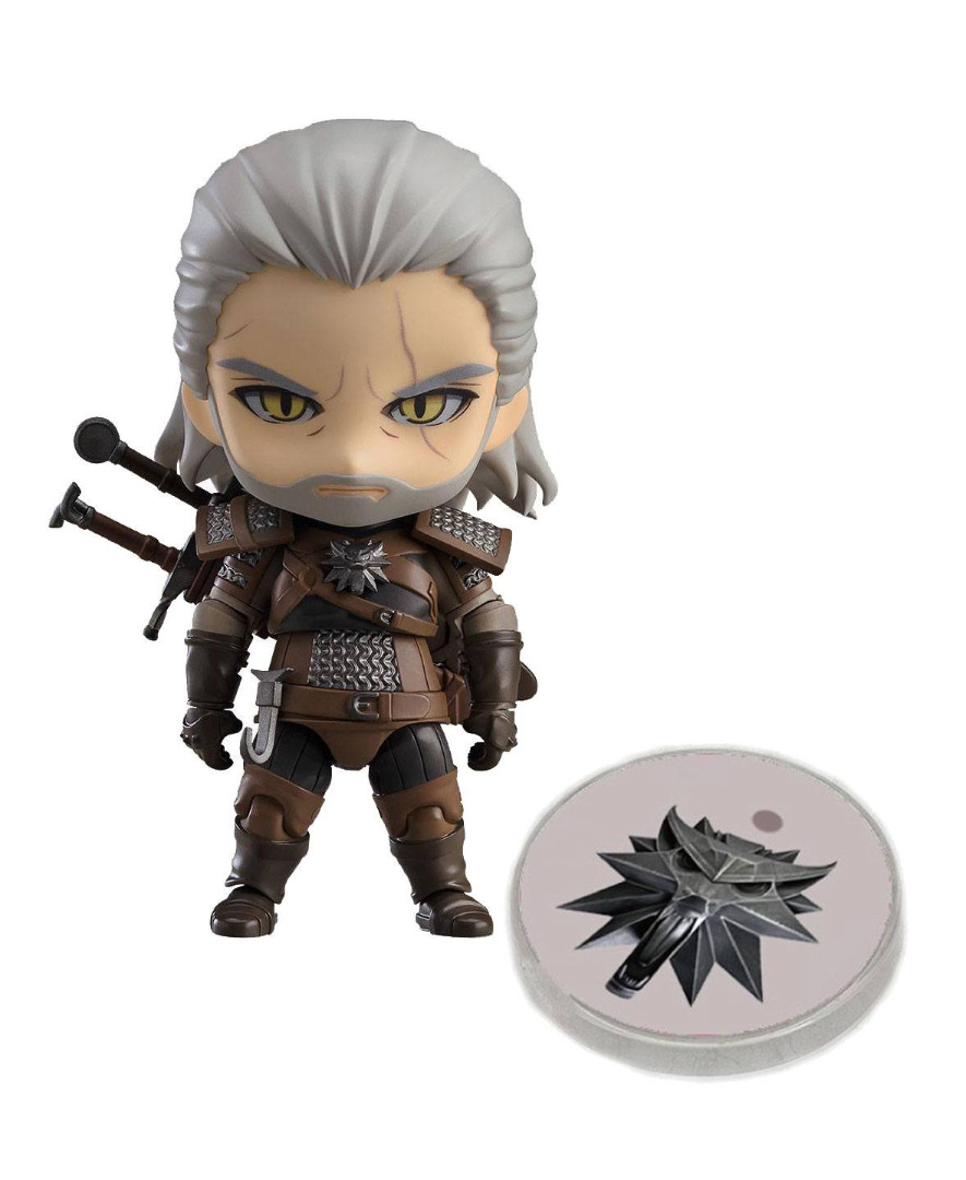 The Witcher 3 Wild Hunt Nendoroid Action Figure Geralt Exclusive 10 cm