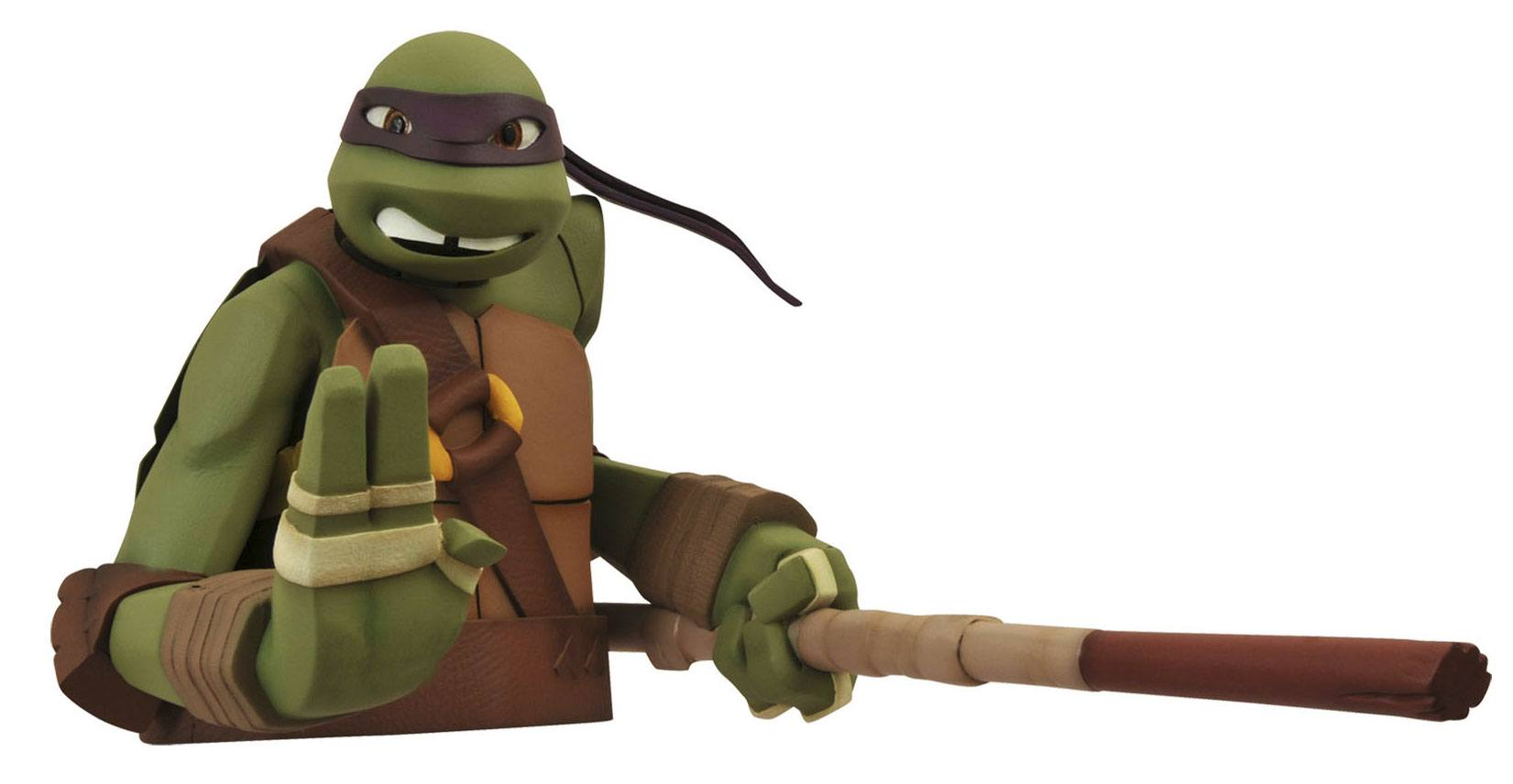 Teenage Mutant Ninja Turtles Bust Bank Donatello 20 cm