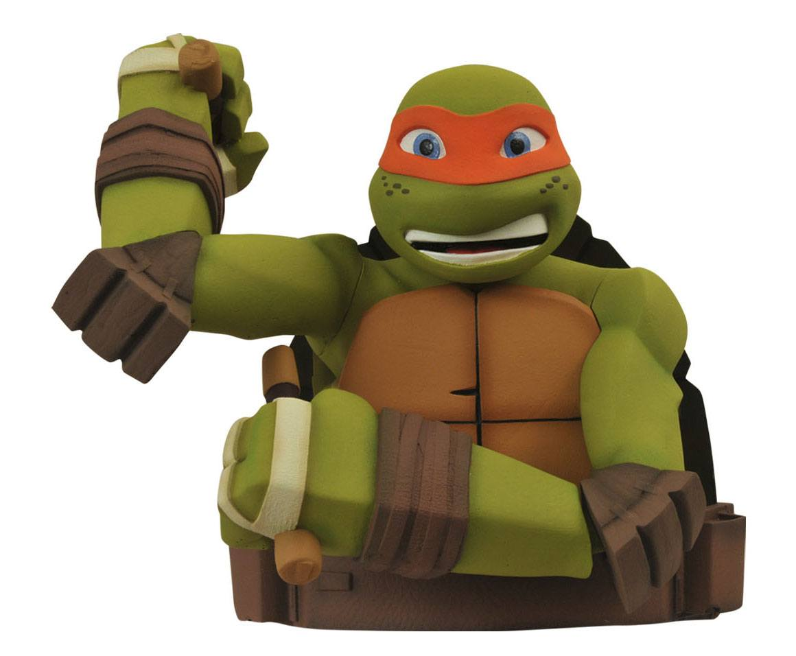 Teenage Mutant Ninja Turtles Bust Bank Michelangelo 20 cm