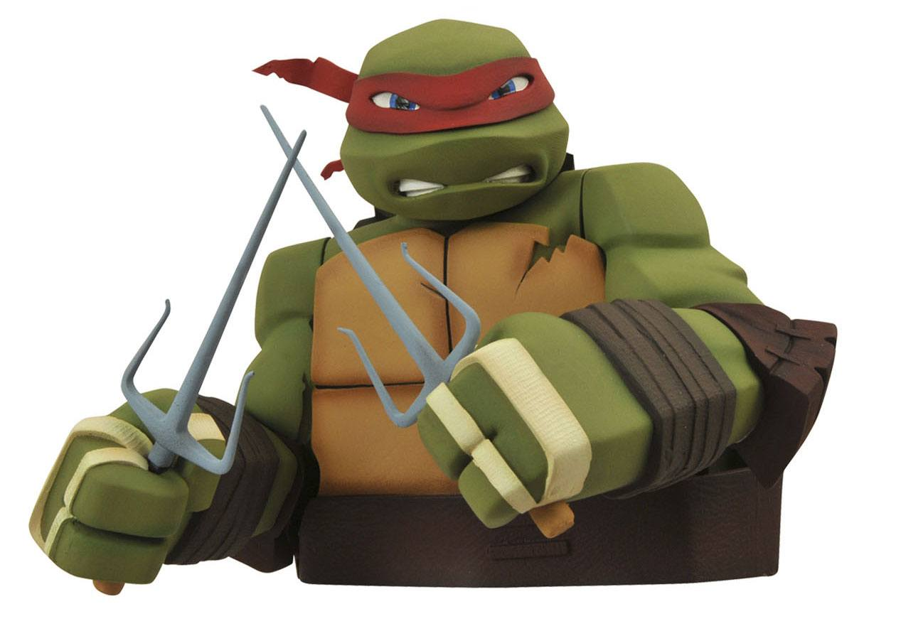 Teenage Mutant Ninja Turtles Bust Bank Raphael 20 cm
