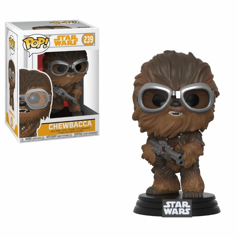 Pop! Star Wars: Han Solo Movie - Chewbacca with Goggles Vinyl Figure 10 cm