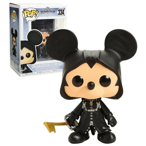 Pop! Disney: Kingdom of Hearts - Organisation 13 Mickey Exclusive Edition