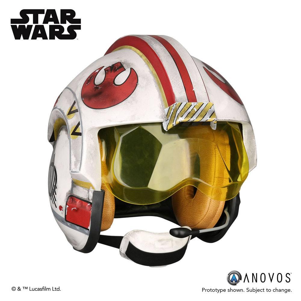 Star Wars Replica 1/1 Luke Skywalker Rebel Pilot Helmet Accessory Ver.