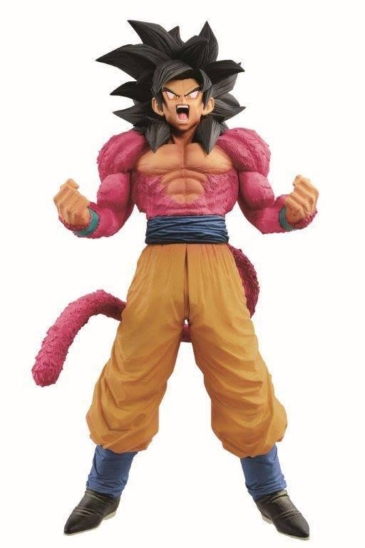 Dragonball GT SuperMaster Stars Piece Figure Son Goku SSJ 4 The Brush 33 cm