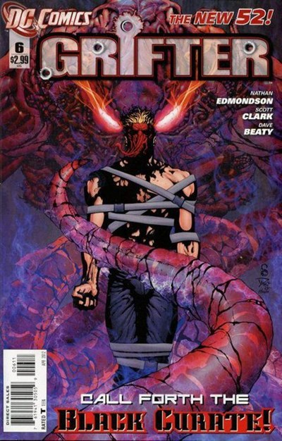 DC Comics- The New 52! Grifter #6 (oferta capa protetora)